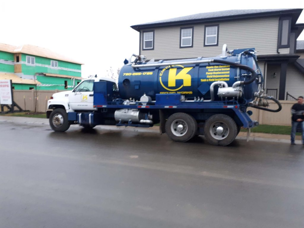 Circle K Groundworks Truck