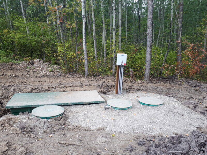 New Septic System Install