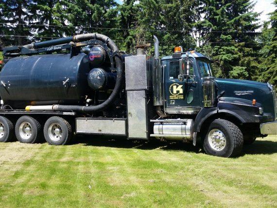 Circle K Hydro Vac Truck